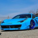 Sky-Blue-Liberty-Walk-Ferrari-458-0-600x334